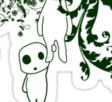 Kodoma Tree Spirit Sticker