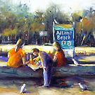 Lunch at Altona beach (Victoria- Australia) by Ivana Pinaffo