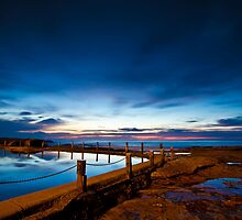 Mahon Pool at dawn by One-Country