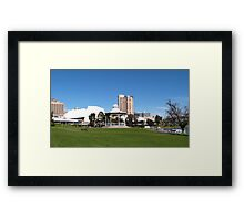 Part of C.B.D. Skyline, 'Elder Park' Adelaide S.Aust. Framed Print
