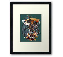 Mobster Puzzle Framed Print