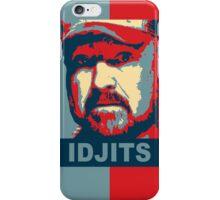 Bobby Singer: Idjits! (Supernatural) iPhone Case/Skin