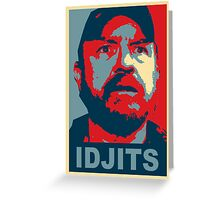 Bobby Singer: Idjits! (Supernatural) Greeting Card