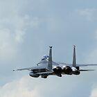 McDonnell Douglas F-15 E Strike Eagle. by Clare Scott