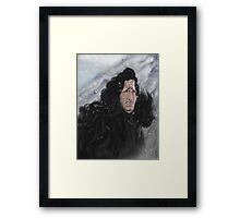 Jon Snow Framed Print