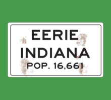 Eerie Indiana Road Sign. by Buleste