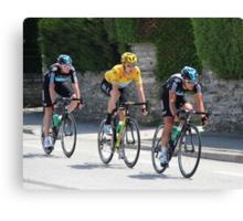 Sky Train - Tour de France 2012 Canvas Print
