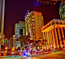 Miami Nights - Brickell II by Terry Neves