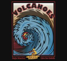 VOLCANOES EPIC SURF BREAK by Larry Butterworth