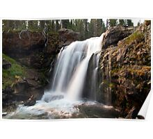 Moose Falls, Yellowstone National Park  Poster
