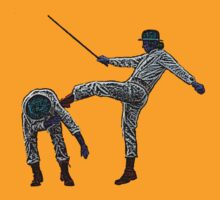 Clockwork Orange Kick Culture Cloth Zinc Collection by CultureCloth