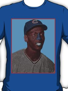 Ernie Banks Chicago Cubs Culture Cloth Zinc Collection T-Shirt