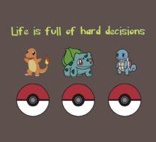 Pokemon original 3 starters by Stephen Dwyer