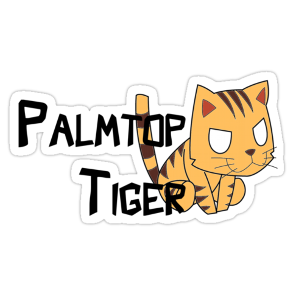 Palmtop Tiger by Swirlz