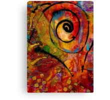 An Artist in Wonderland Canvas Print