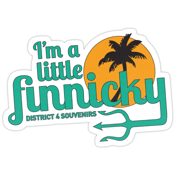 I'm a little finnicky by Rachael Thomas