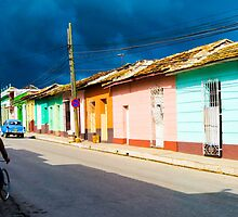 Trinidad street. by Anne Scantlebury