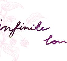 Infinite Love by Dream Believe Create Designs