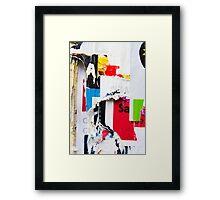 Paper Memories Framed Print
