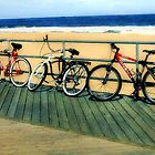Boardwalk Bicycles by RC deWinter