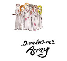 Dumbledore's Army Photographic Print