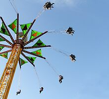 Spinning at the Fair by Tracy Friesen