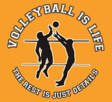 VOLLEYBALL IS LIFE. THE REST IS JUST DETAILS. by mcdba
