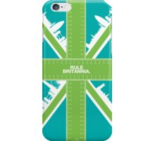 Rule Britannia.  iPhone Case/Skin