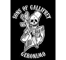 Sons of Gallifrey Photographic Print
