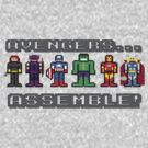 Avengers... PIXELATE! by inesbot