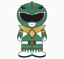 Green Ranger MiniFolk Sticker by dangerliam