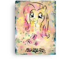 Poster: Fluttershy Canvas Print