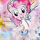 Poster: Pinkie Pie by kimjonggrill
