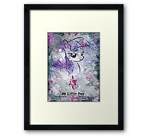 Poster: Twilight Sparkle Framed Print