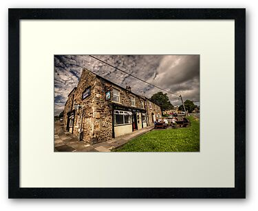 The Grey Bull Inn by Rob Hawkins