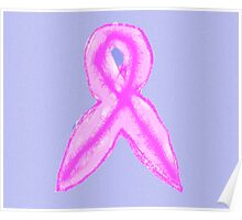 2012 pink ribbon for Breast Cancer Awareness Month in Australia - October  Poster