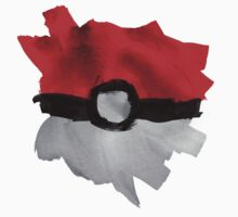 Painting Pokeballs by cluper