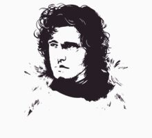 Jon Snow of the Night's Watch by micahmm