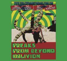 Freaks From Beyond Oblivion Alien Green by FFBO
