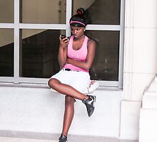 Phoning you. by Anne Scantlebury