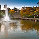 Fountain Lake Roma St Parklands Brisbane by PhotoJoJo