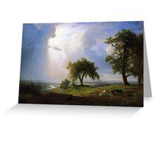 Bierstadt Albert California Spring Greeting Card