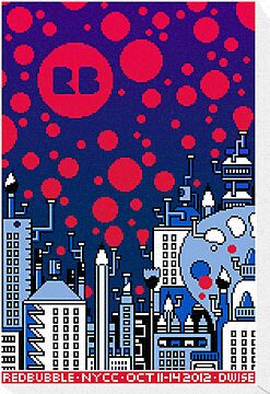 REDBUBBLE CITY! by DREWWISE