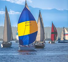The Elliott Bay Regatta by Jim Stiles