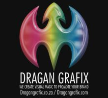 DRAGAN GRAFIX Black And Grey T-Shirt Design by Christopher McCabe