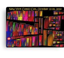 The New York Comic-Con 2012 Neighborhood Redux Canvas Print