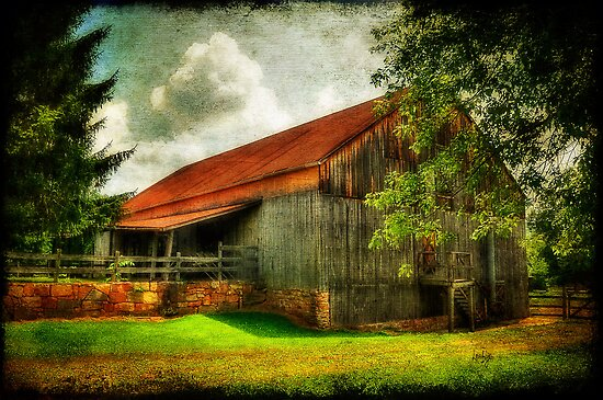 A Farm-Picture by Lois  Bryan