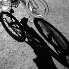 bike shadows by AmeliaMG