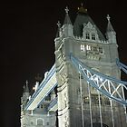 London Bridge illuminated at night by Pat Garret