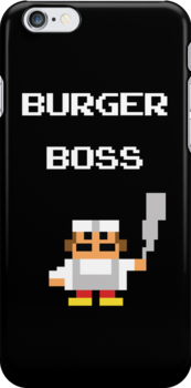 burger boss arcade by timmehtees